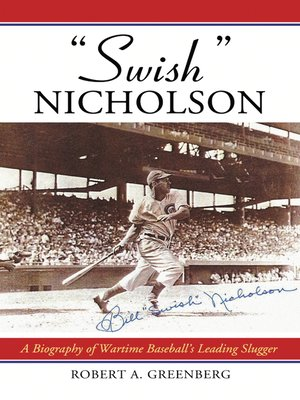 "cover image of ""Swish"" Nicholson"